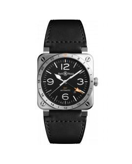 Montre Bell & Ross BR 03-93 GMT BR0393-GMT-ST/SCA