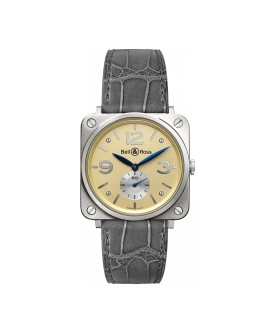 Montre Bell & Ross BR S White Gold BRS-WHGOLD-IVORY_D