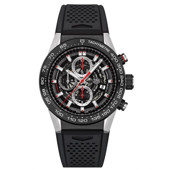 Montre Tag Heuer Carrera Chronographe CAR2A1Z.FT6044