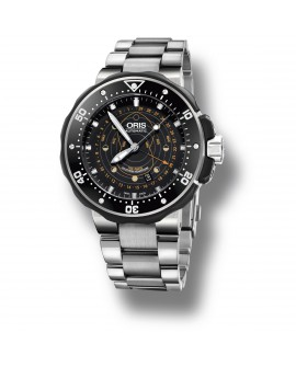 Montre Oris ProDiver Pointer Moon 01 761 7682 7134-Set
