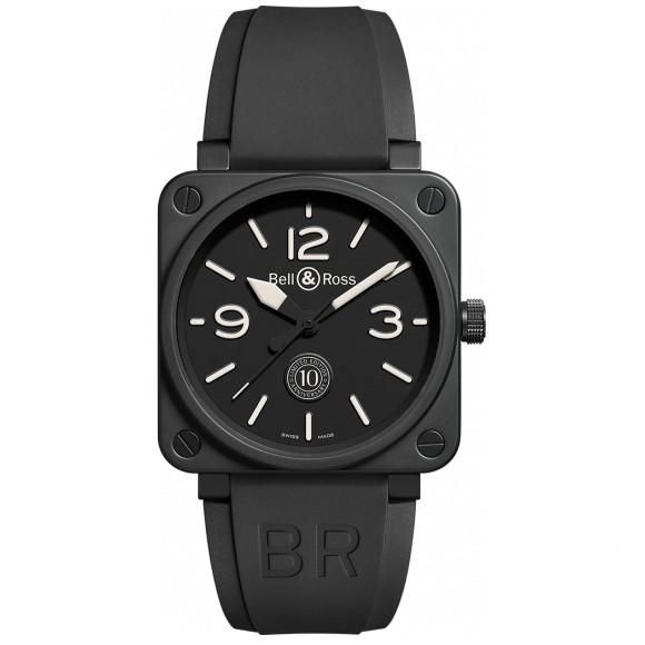 Montre Bell & Ross BR 01 10TH ANNIVERSARY BR0192-10TH-CE