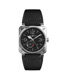 Montre Bell & Ross BR 03-97 OFFICER BR0397-BL-SI/SCA