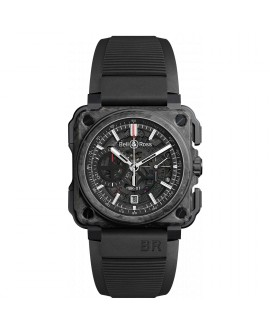 Montre Bell & Ross BR-X1 CARBONE FORGE ® BRX1-CE-CF-BLACK