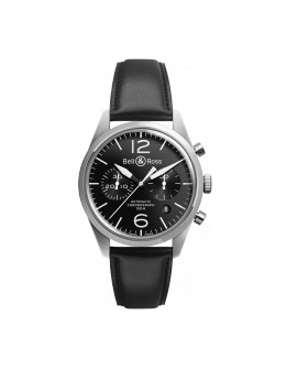 Montre Bell & Ross BR 126 Original Black BRV126-BL-ST/SCA