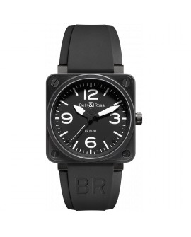 Montre Bell & Ross BR 01-92 Carbon BR0192-BL-CA