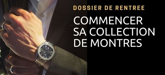 Commencer collection montre luxe